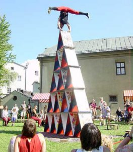 Mittelalterfest 2003, Foto: Stadt Hall