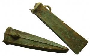 Amoricanische_Tuellenbeile, Bretagne, 900-800 v.Chr., Bronze. Foto OeNB