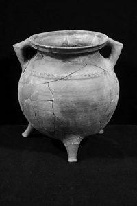 Kochtopf (Grapen), Keramik, ca. 1300