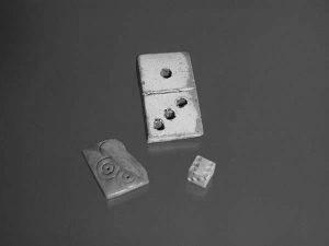 Spielsteine, Bein, ca. 1270 – 1600