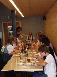 Museum auf Rädern, Felixé Mina's Haus, Tannheim, 2011, Foto: Stadtarchäologie Hall i.T.