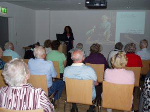 Museum auf Rädern, Seniorenheim Kitzbühel, 2011, Foto: Stadtarchäologie Hall i.T.