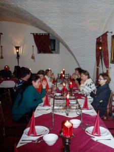 Weihnachtsfeier 2011, Foto: Stadtarchäologie Hall i.T.
