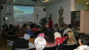 """Vortragsreihe """"Auf der Suche nach dem weißen Gold – Vorgeschichtliche Salzsieder im Halltal"""", Mils 2009, Foto: Stadtarchäologie Hall i.T."""
