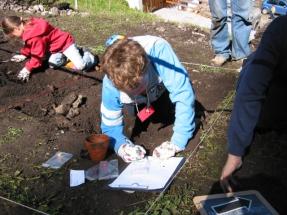 Kindergrabung_2007